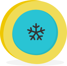 An illustration of a snow-flake