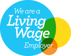 Logo living wage employer